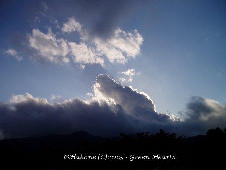 冬の空@駒ケ岳